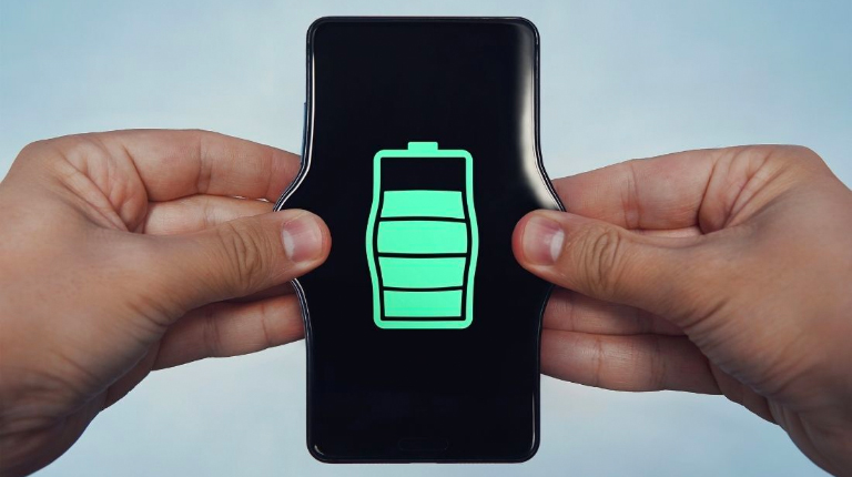 stretching smartphone battery